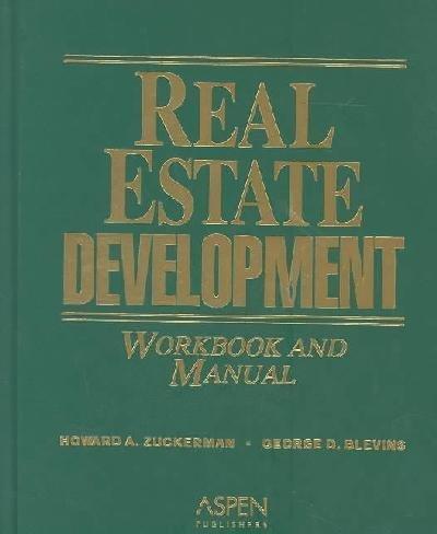 9780735544369: Real Estate Development Workbook and Manual