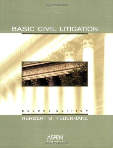 9780735544598: Basic Civil Litigation, 2nd Edition