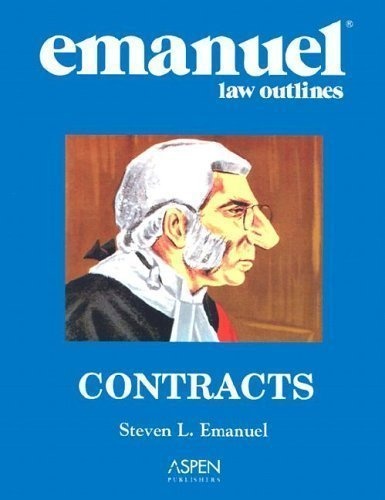 9780735544673: Contracts (Emanuel Law Outline)