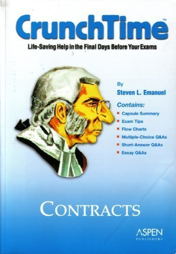 9780735545151: CrunchTime: Contracts