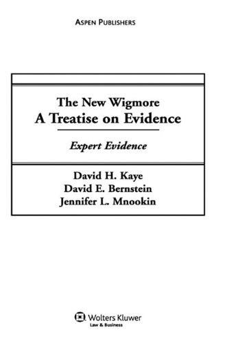 9780735545557: The New Wigmore, A Treatise on Evidence: Expert Evidence