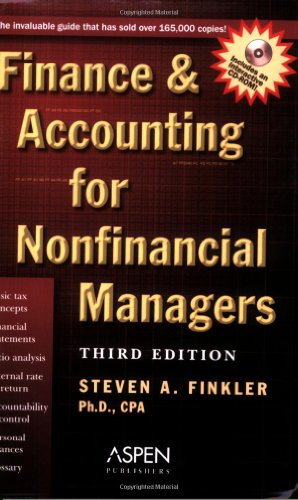 9780735546042: Finance & Accounting for Nonfinancial Ma