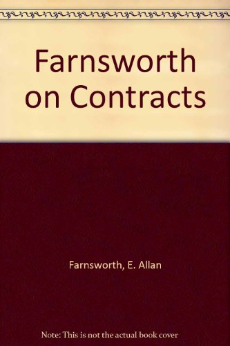 9780735546073: Farnsworth on Contracts