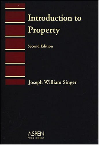 9780735546585: Introduction To Property (Introduction to Law Series)