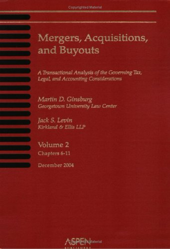 9780735548671: Mergers, Acquisitions, and Buyouts (4 Volume Print Set, December 2004)
