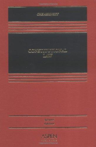 9780735549463: Constitutional Law (Casebook Series)