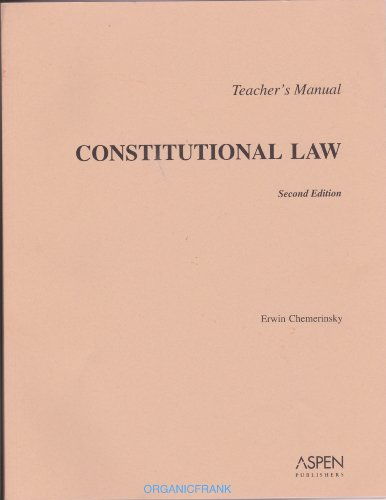 9780735549470: TM: Constitutional Law 2nd Edition