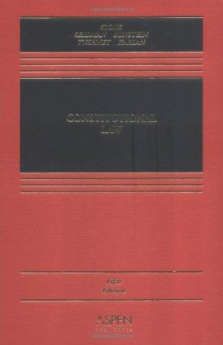 Constitutional Law (Casebook): Pamela S. Karlan,