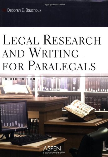 9780735551053: Legal Research and Writing for Paralegals