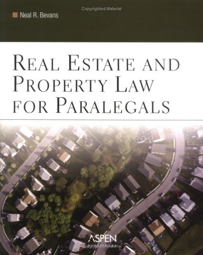 9780735551534: Real Estate And Property Law for Paralegals