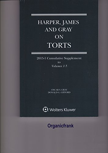 9780735551596: Harper, James and Gray on Torts
