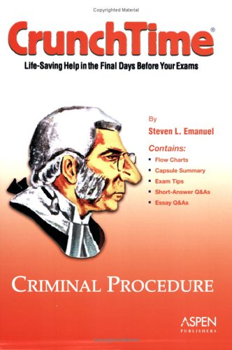 9780735551824: Criminal Procedure (Crunchtime)