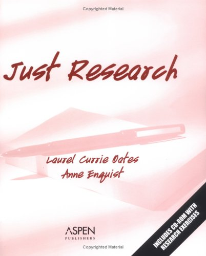 9780735552951: Just Research