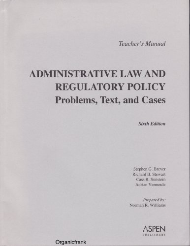 9780735556072: TM: Administrative Law & Regulatory Policy 6e