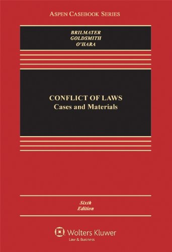 9780735557451: Conflict of Laws: Cases and Materials (Aspen Casebook Series)