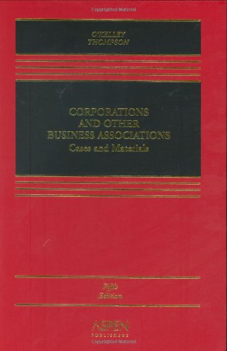9780735557901: Corporations and Other Business Associations: Cases and Materials