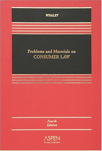 9780735558090: Problems And Materials on Consumer Law (Aspen Elective Series) (Casebook)