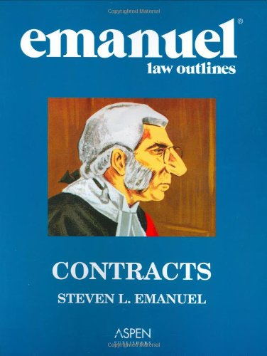 9780735558175: Emanuel Law Outlines: Contracts