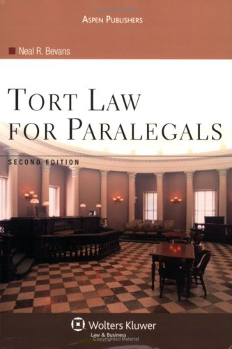 9780735558373: Tort Law for Paralegals, 2E