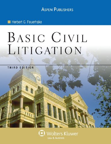9780735558465: Basic Civil Litigation 3e