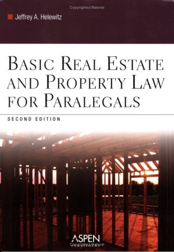 9780735558496: Basic Real Estate and Property Law for Paralegals