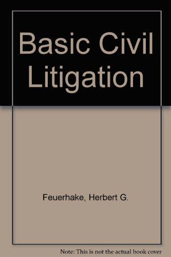 9780735559394: Basic Civil Litigation 2nd Edition
