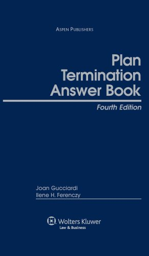9780735560093: Plan Termination Answer Book