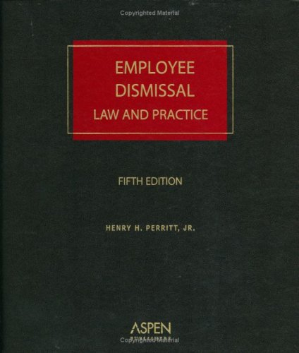 9780735561410: Employee Dismissal: Law and Practice