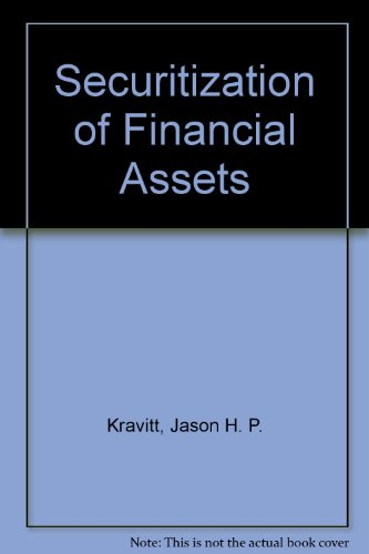 9780735561922: Securitization of Financial Assets