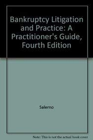 9780735561939: Bankruptcy Litigation and Practice: A Practitioner's Guide