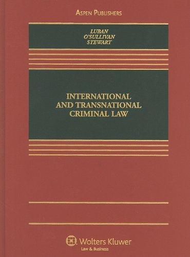9780735562141: International and Transnational Criminal Law