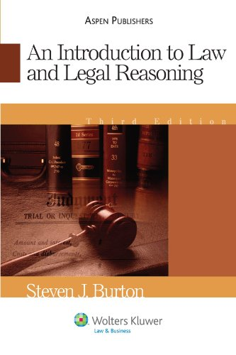 9780735562776: An Introduction To Law and Legal Reasoning (Introduction to Law Series)