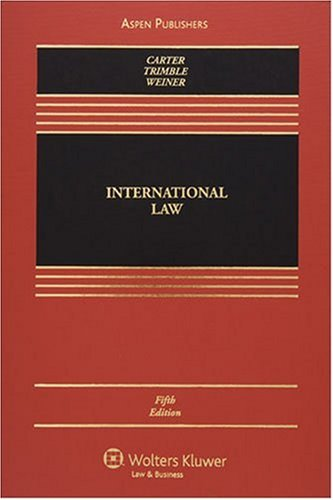 9780735562783: International Law (Casebook)