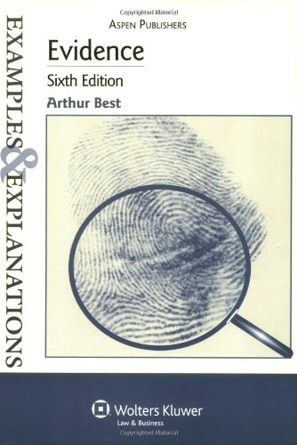 9780735562882: Evidence, 6th Edition (Examples & Explanations)