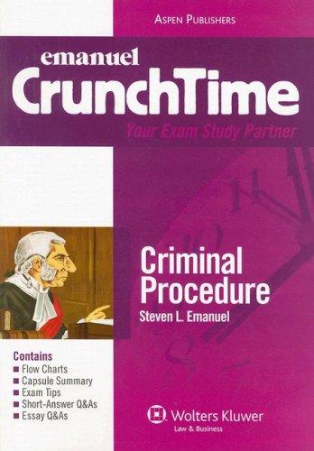 9780735563018: CrunchTime Criminal Procedure