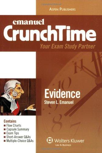 9780735563025: CrunchTime Evidence
