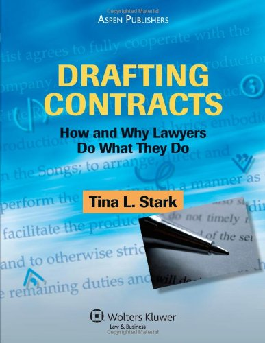 9780735563391: Drafting Contracts: How and Why Lawyers Do What They Do