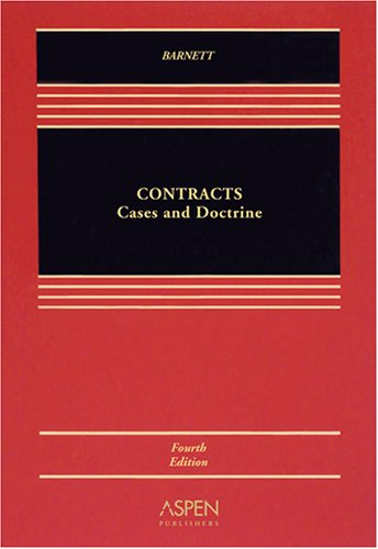 9780735563469: Contracts Cases & Doctrine