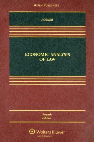9780735563544: Economic Analysis of Law