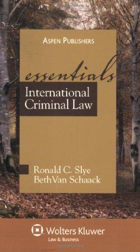 9780735565531: International Criminal Law: The Essentials