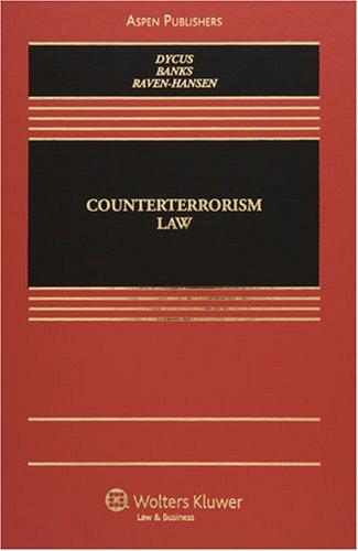9780735565593: Counterterrorism Law (Elective Series)