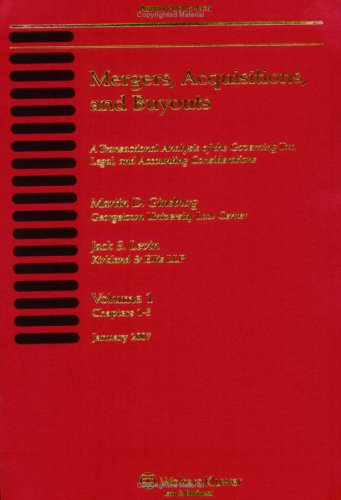 Mergers, Acquisitions and Buyouts 02/07 (4 Volumes) (Supplemented Twice Annually): Martin D. ...