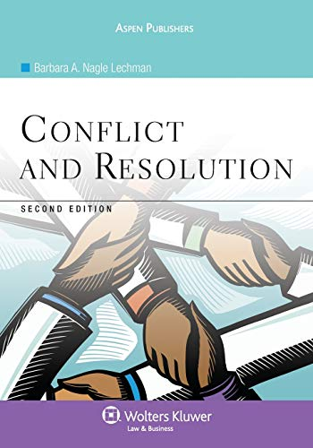 9780735567320: Conflict and Resolution, Second Edition (Aspen College)