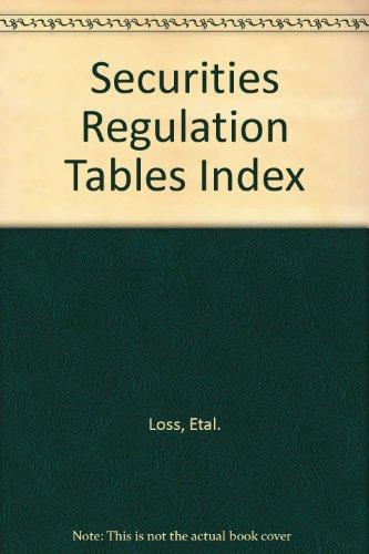 Securities Regulation: Loss, ; Seligman