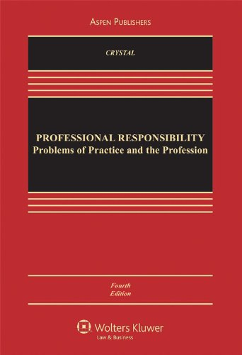 9780735567986: Professional Responsibility: Problems of Practice