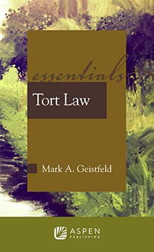 9780735568280: Tort Law (Essentials)