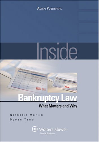 9780735568297: Inside Bankruptcy:: What Matters and Why