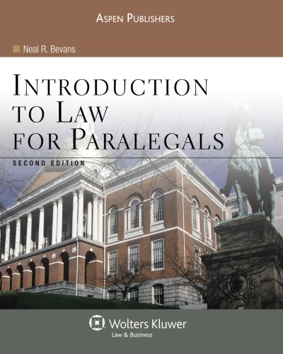 9780735569201: Introduction To Law for Paralegals Second Edition