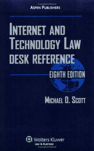 9780735569355: Internet and Technology Law Desk Reference