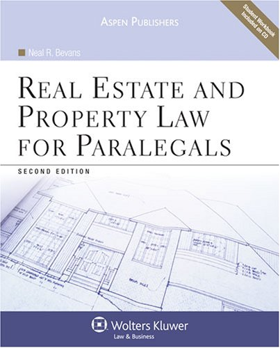 9780735569447: Real Property Law for Paralegals